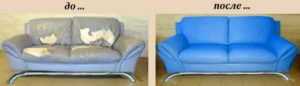 Перетяжка диванов на дому в Красногорске недорого