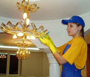 Мытье люстр в Красногорске