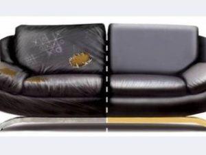 Перетяжка кожаного дивана в Красногорске