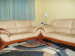 Перетяжка кожаной мебели в Красногорске